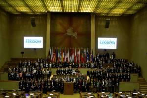 Parliament in Vilnius