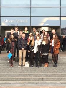 LAML MEP visits EU Parliament in Brussels